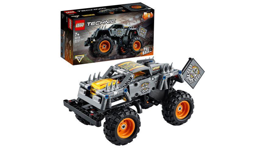 LEGO 42119 Technic Monster Jam Max-D, Konstruktionsspielzeug