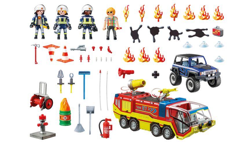PLAYMOBIL 70557 City Action Feuerwehreinsatz mit Loeschfahrzeug