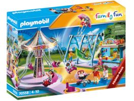 PLAYMOBIL 70558 Family Fun Grosser Vergnuegungspark