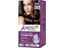 ARTIST Professional Intensiv Creme Coloration Schokobraun 57 Level 3
