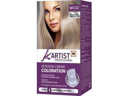 ARTIST Professional Intensiv Creme Coloration Platinblond 101 Level 3