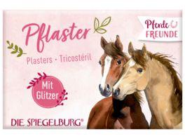 Die Spiegelburg Pflasterstrips mit Glitzer Pferdefreunde 10 Stueck