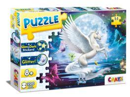 CRAZE Puzzle 200 Teile Moonlight Pegasus