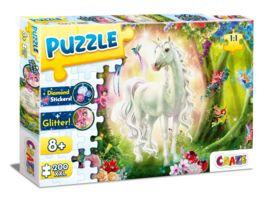 CRAZE Puzzle 200 Teile Magic Forest