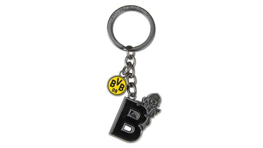 BVB-Schlüsselanhänger Schutzengel: B
