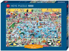 Heye Standardpuzzle 1000 Teile Cool Down