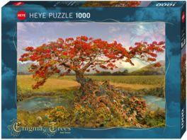 Heye Standardpuzzle 1000 Teile Strontium Tree Enigma Trees