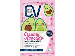 CV Creamy Avocado Mousse Maske