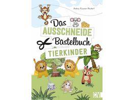 Das Ausschneide Bastelbuch Tierkinder