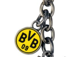 BVB Schluesselanhaenger Schutzengel W