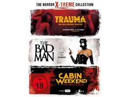 The Horror X treme Collection LTD 3 BRs