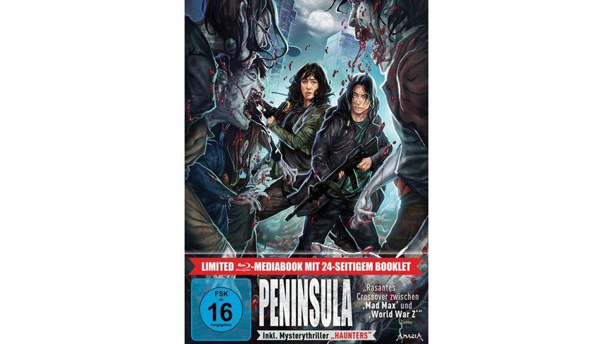 Peninsula LTD. - Limitiertes 2-BD-Mediabook samt FSK-Umleger  [2 BRs]