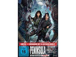 Peninsula LTD Limitiertes 2 BD Mediabook samt FSK Umleger 2 BRs