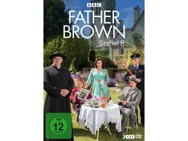 Father Brown Staffel 8 3 DVDs