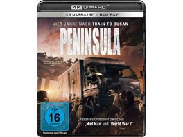 Peninsula 4K Ultra HD Blu ray 2D