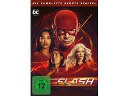 The Flash Staffel 6 4 DVDs