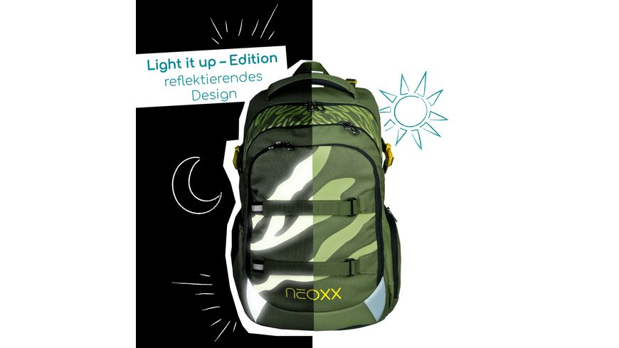 NEOXX Rucksack Active - Ready for Green
