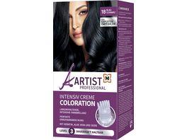 ARTIST Professional Intensiv Creme Coloration Blauschwarz 18 Level 3