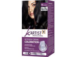 ARTIST Professional Intensiv Creme Coloration Schwarz 10 Level 3