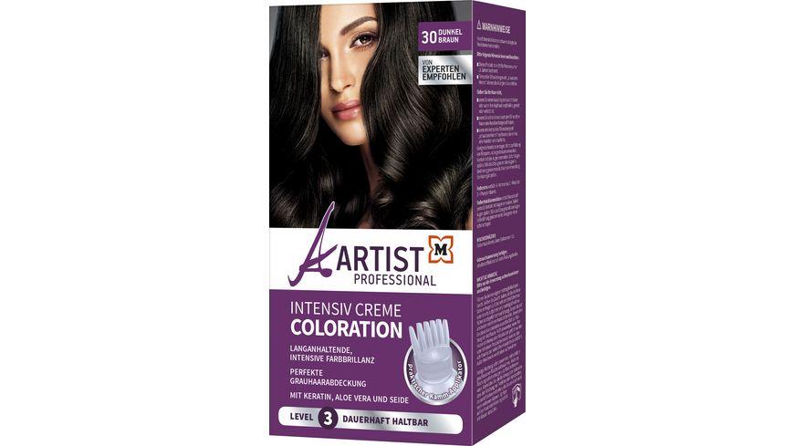 ARTIST Professional Intensiv Creme Coloration Dunkelbraun 30 Level 3