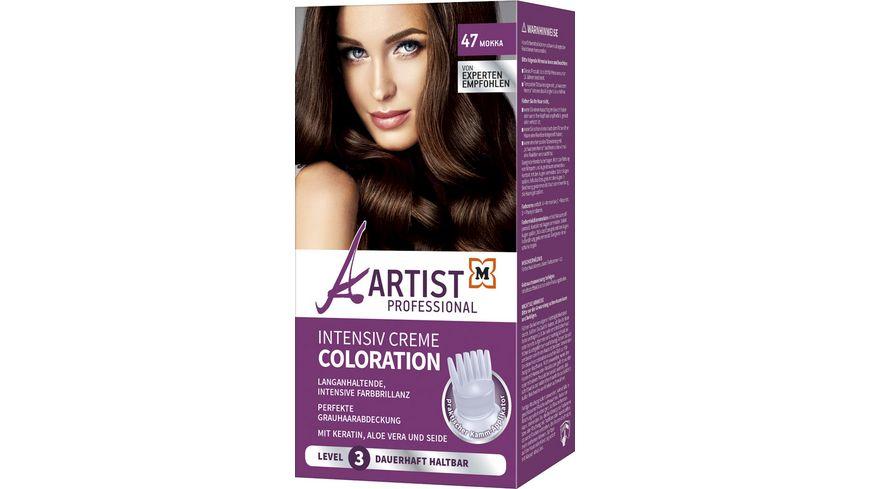 ARTIST Professional Intensiv Creme Coloration Mokka 47 Level 3