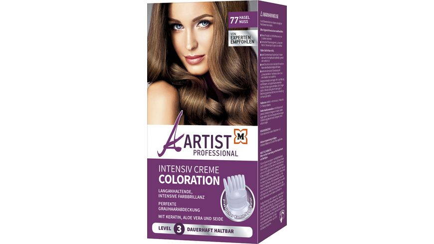 ARTIST Professional Intensiv Creme Coloration Haselnuss 77 Level 3