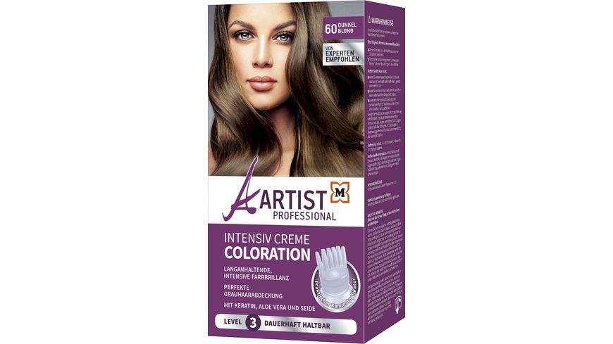 ARTIST Professional Intensiv Creme Coloration Dunkelblond 60 Level 3