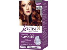 ARTIST Professional Intensiv Creme Coloration Kupfergold 74 Level 3