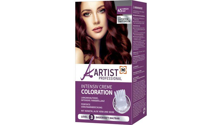 ARTIST Professional Intensiv Creme Coloration Kirschrot 45 Level 3