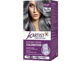 ARTIST Professional Intensiv Creme Coloration Silbergrau 111 Level 3
