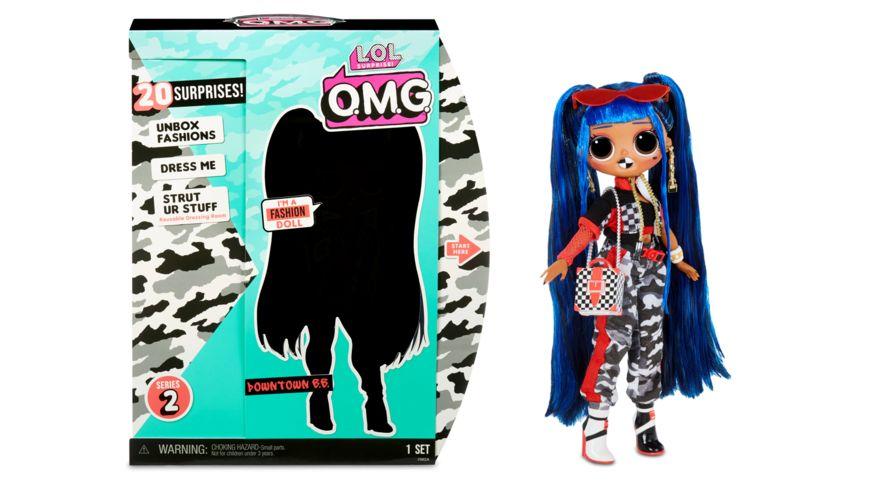 L O L Surprise OMG 3 8 Doll Downtown BB