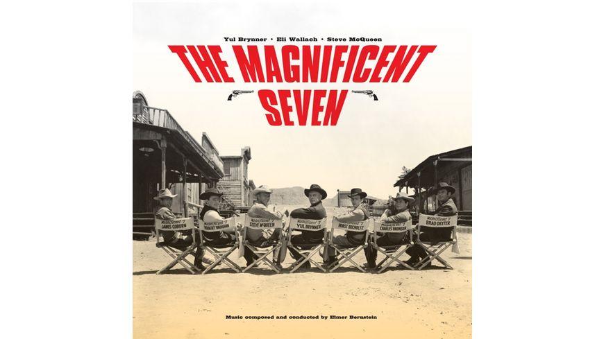 The Magnificent Seven Ost (Ltd.180g Farbiges Vinyl