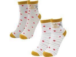 sheepworld Partner Socken Liebe liegt in der Luft