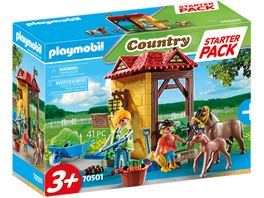 PLAYMOBIL 70501 Country Starter Pack Reiterhof