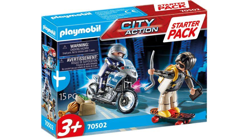 PLAYMOBIL 70502 - City Action - Starter Pack Polizei Ergänzungsset