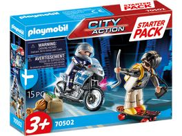 PLAYMOBIL 70502 City Action Starter Pack Polizei Ergaenzungsset