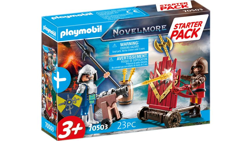 PLAYMOBIL 70503 - Novelmore - Starter Pack Novelmore Ergänzungsset