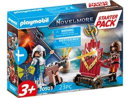 PLAYMOBIL 70503 Novelmore Starter Pack Novelmore Ergaenzungsset