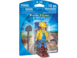 PLAYMOBIL 70560 Playmo Friends Bauarbeiter