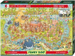 Heye Standardpuzzle 1000 Teile Funky Zoo Australian Habitat