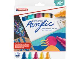 edding Acrylmarker 5000 5er Set breit abstract