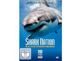 Shark Nation Die tollsten und unglaublichsten Haigeschichten 4 DVDs