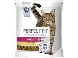 PERFECT FIT Katze Beutel Adult 1 mit Huhn 1 4kg