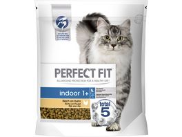 PERFECT FIT Katzenfutter Beutel Indoor 1 mit Huhn