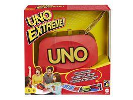 Mattel Games UNO Extreme Kartenspiel Kinderspiel Gesellschaftsspiel