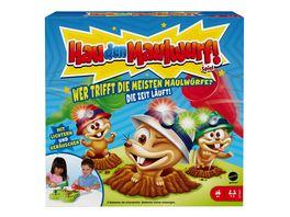 Mattel Games Hau den Maulwurf Aktionsspiel Kinderspiel