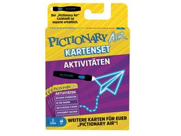 Mattel Games GYP07 Pictionary Air Extension Pack Activities D