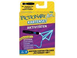 Mattel Games Pictionary Air Kartenset Aktivitaeten Zeichenspiel ab 8Jahren