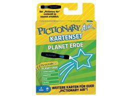 Mattel Games Pictionary Air Kartenset Planet Erde Zeichenspiel ab 8Jahren