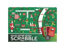 Mattel Games Scrabble Dialekt Edition Koeln Gesellschaftsspiel Familienspiel